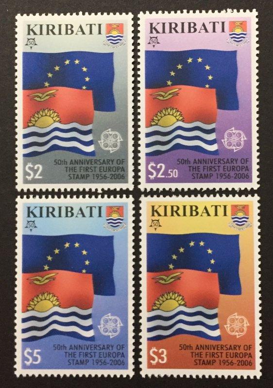 Kirbati 2006 #884-7, Europa 50th Anniversary, MNH.