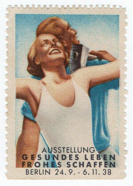 (I.B) Germany Cinderella : Healthy Living Exhibition (Berlin 1938)