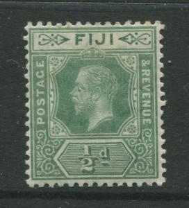 Fiji - Scott 80 - KGV Definitive Issue -1912 -Die I - MNH - Single 1/2d Stamp