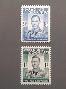 Southern Rhodesia 48,50 F-VF MLH. Scott $ 3.00