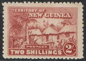 NEW GUINEA 1925 HUT 2/-