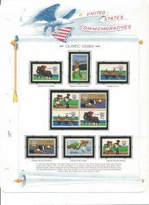 USA Postal Stamps MNH 1979 (18 stamps)