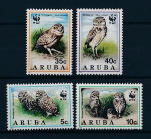 [53615] Aruba 1994 Birds Vögel Oiseaux Ucelli WWF Owls MNH