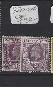 CAYMAN ISLANDS (P1111B)   KE  6D  SG 30-30A   VFU