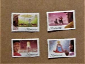 Montserrat -588-91, MNH Set. Christmas. SCV - $1.70
