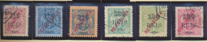 Lourenco Marques Stamps Scott #132 To 137, Used - Free U.S. Shipping, Free Wo...