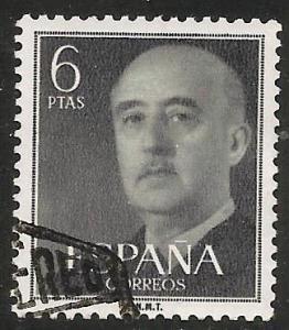 Spain 1955 Scott# 833 Used