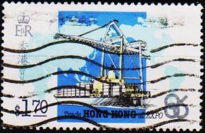 Hong Kong. 1986 $1.70 S.G.519 Fine Used