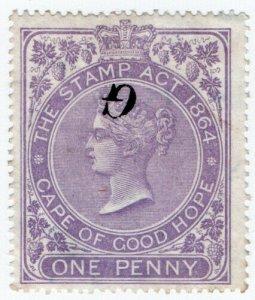 (I.B) Griqualand West Revenue : Duty Stamp 1d