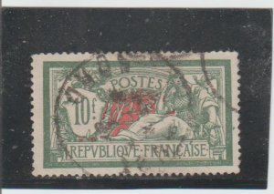 France  Scott#  131  Used  (1926 Liberty and Peace)