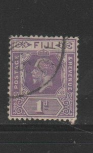 FIJI #95  1922  1p  KING GEORGE V       F-VF  USED