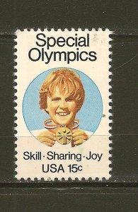 USA 1788 Special Olympics MNH