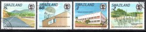 Swaziland - 1989 25th Anniv of African Development Bank Set Used SG 561-564