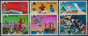 Korea - DPR - Scott 1506-1511 MNH