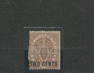 British Colombia Vancouver Island Stamp