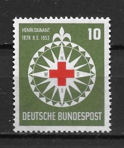 Germany 696 Red Cross Single MNH (z2)