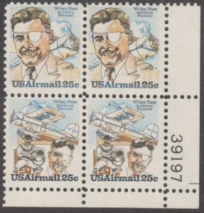 #C95-6 US AIRMAIL WILEY POST  BL3525