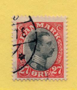 Denmark - Sc# 110 Used  /  Lot 0818181