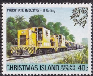 Christmas Island #105 Mint