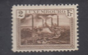 J25724 JLstamps 1921-34 luxembourg part of set used #129 buildings