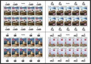 Z08 ANG190106c ANGOLA 2019 Lighthouses MNH ** Postfrisch
