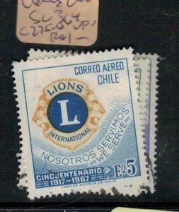 Chile Lions Club SC 364, C275-6 VFU (8exv)