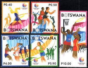 Botswana - 2017 Netball World Youth Cup Set MNH**
