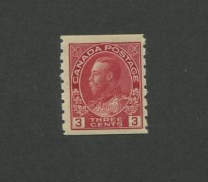 Canada 1924 King George V Admiral Issue 3c Stamp #130 CV $75