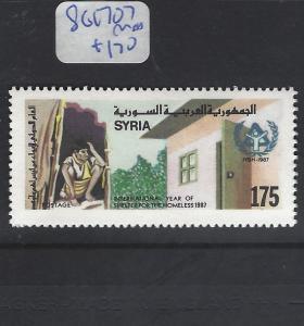 SYRIA   (PP0410B) SG  1707   MNH