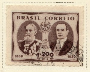 Brazil 1939 Early Issue Fine Used 1.200r. NW-12114