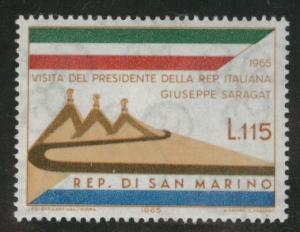 San Marino Scott 626 MNH**  1965  stamp