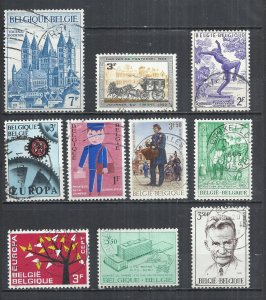TEN AT A TIME - BELGIUM - POSTALLY USED COMMEMORATIVE 57