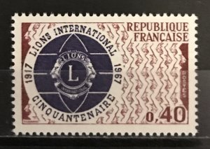 France 1967 #1196, MNH, CV $.70