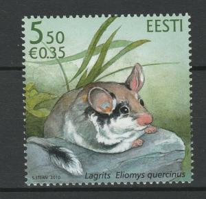 Estonia 2010 Fauna, Animals MNH Stamp