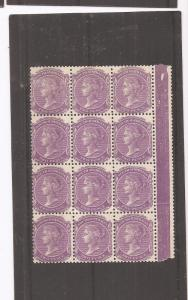 South Australia 1905-11 2d SG 295 block of 12 MNH (dbs)