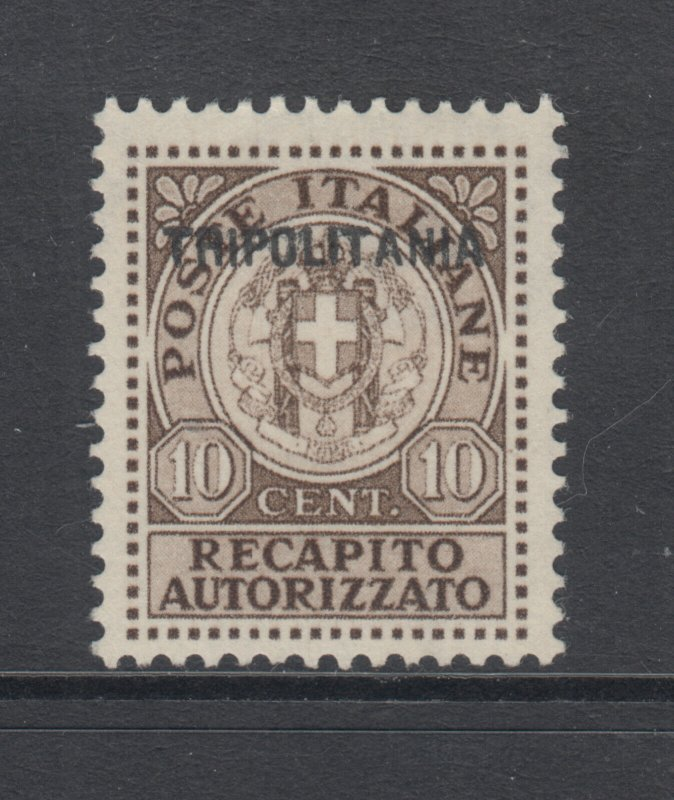 Tripolitania Sc EY1a MLH. 1931 10c Authorized Delivery, Counterfeit overprint