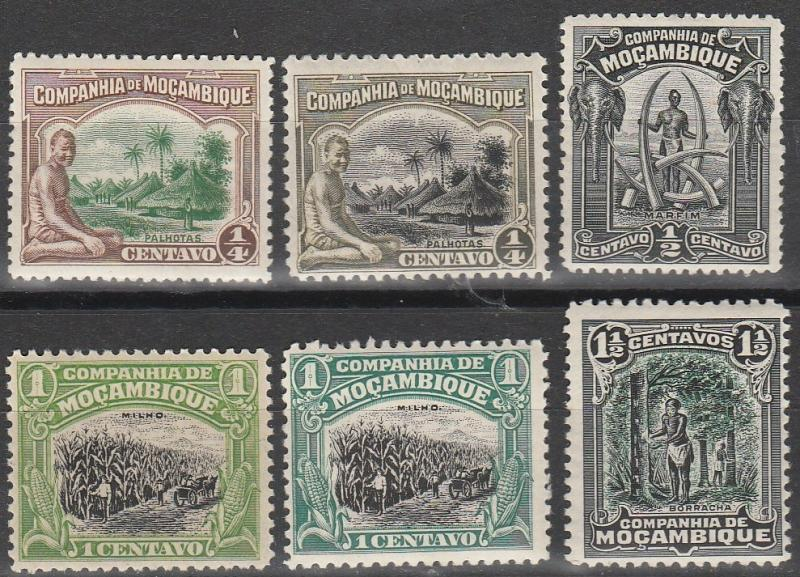 Mozambique Company #108-12   F-VF Unused  CV $2.50  (A15084)