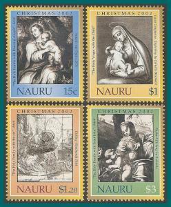 Nauru 2002 Christmas, MNH 510-513,SG562-SG565