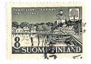 Finland 1946 Scott 256 Cmplt used sgle - scv $1.25 Less 50%=$0.60 Buy it Now