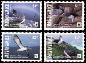 Aitutaki 2016 Scott #648-651 Mint Never Hinged