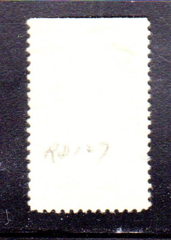 RD127 $1 00 STOCK TRANSFER REVENUE STAMP SERIES 1942 USED b