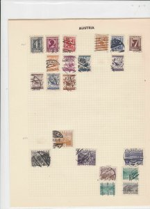 austria stamps page ref 17102