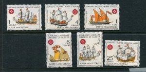 Sovereign Military Order Of Malta Yvert 27-32 MNH