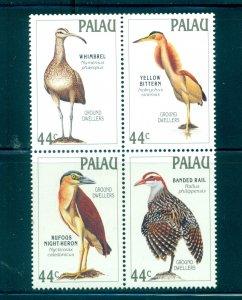 Palau - Sc# 190a. 1988 Birds.  MNH Block of 4. $3.50.