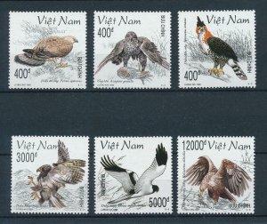 [102955] Vietnam 1998 Birds of prey vögel oiseaux  MNH