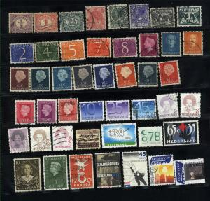 Netherlands  46 different used  PD