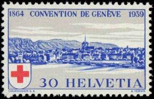 Switzerland #268-269, Complete Set(2), 1939, Never Hinged