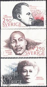 Sweden #1618-1622 Used Set