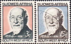 Namibia - Southwest Africa  #302-303 Used Set