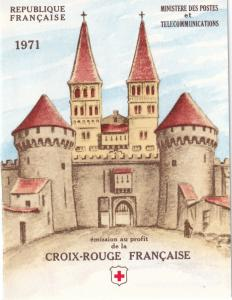 France #B452a Red Cross Booklet $6.00 Z51